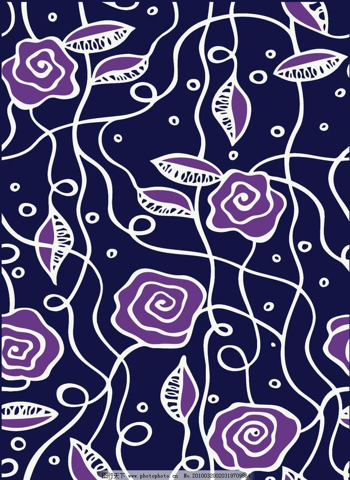 抽象花纹图片