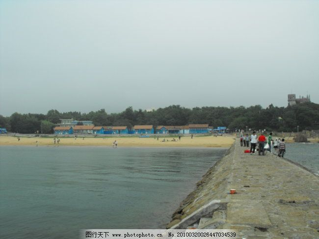 海边 摄影图片 青岛八大关 海边 摄影图片 图片素材 风景|生活|旅游