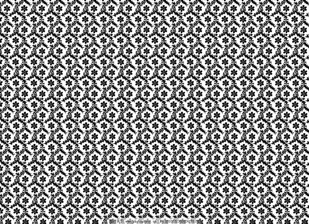 欧式经典底纹 花 叶子 丝带 精致连续纹样 窗花 墙纸 设计素材 300dpi
