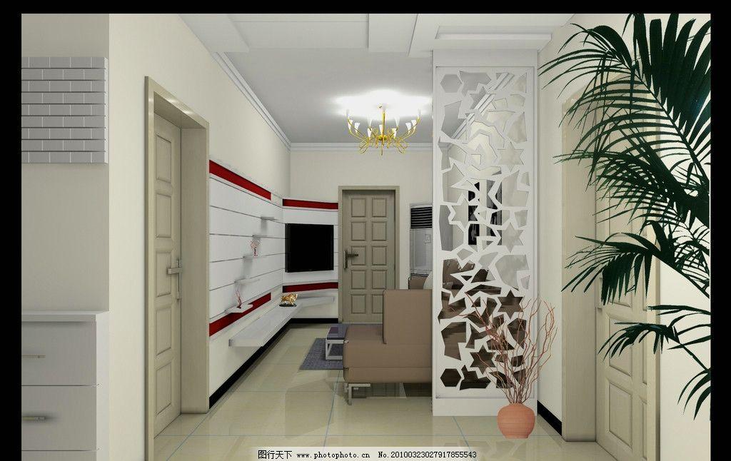 客厅装修 电视形象墙 雕刻隔断 家庭装修 室内设计 环境设计 设计 150