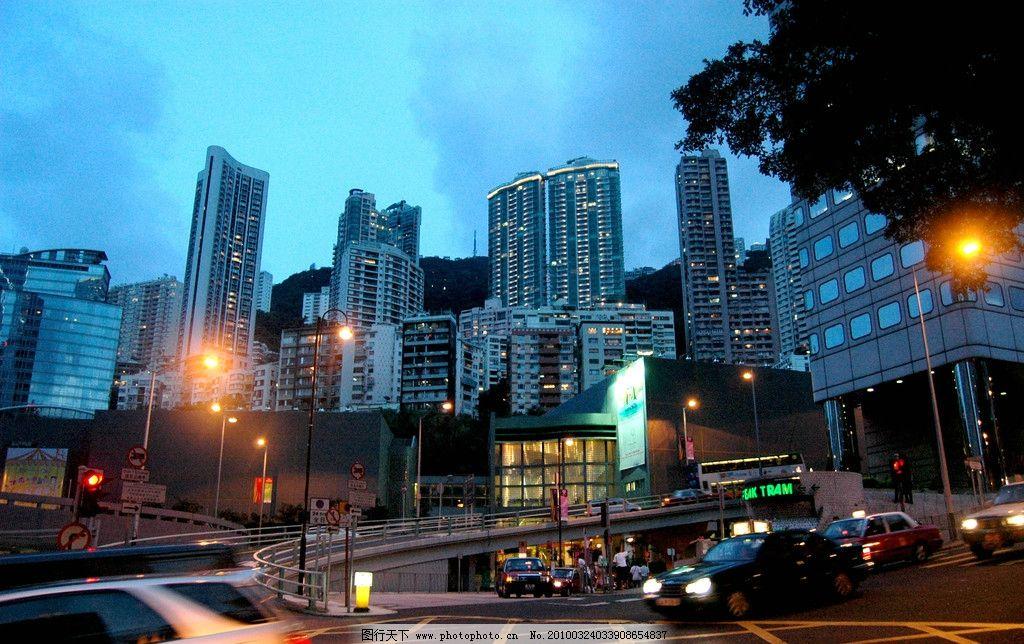 香港街景 香港 风光 建筑 街景 街道 马路 香港风景 香港建筑 生活