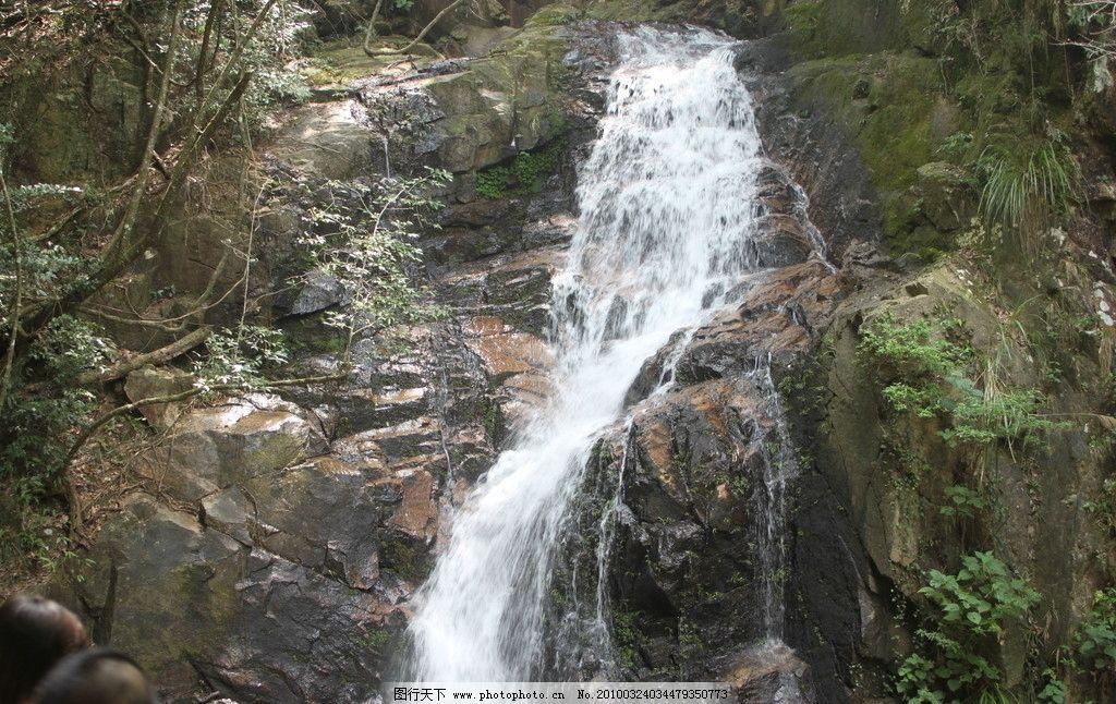 顺昌华阳山狮子岭瀑布 瀑布 山水风景 自然景观 摄影 72dpi jpg