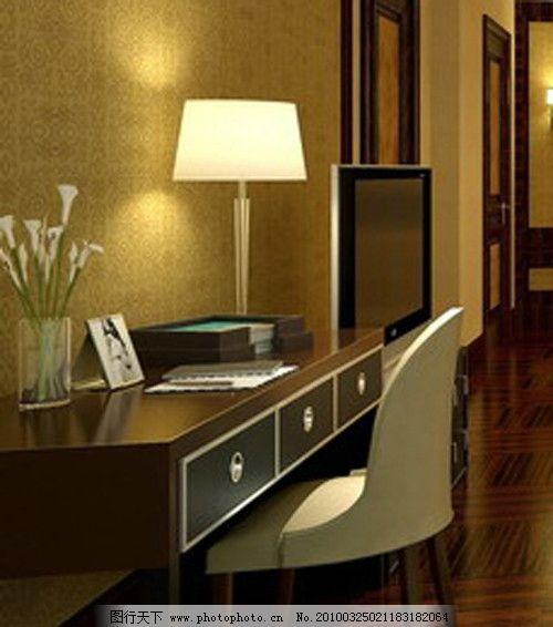 酒店书桌电?#24248;?#32452;合图片