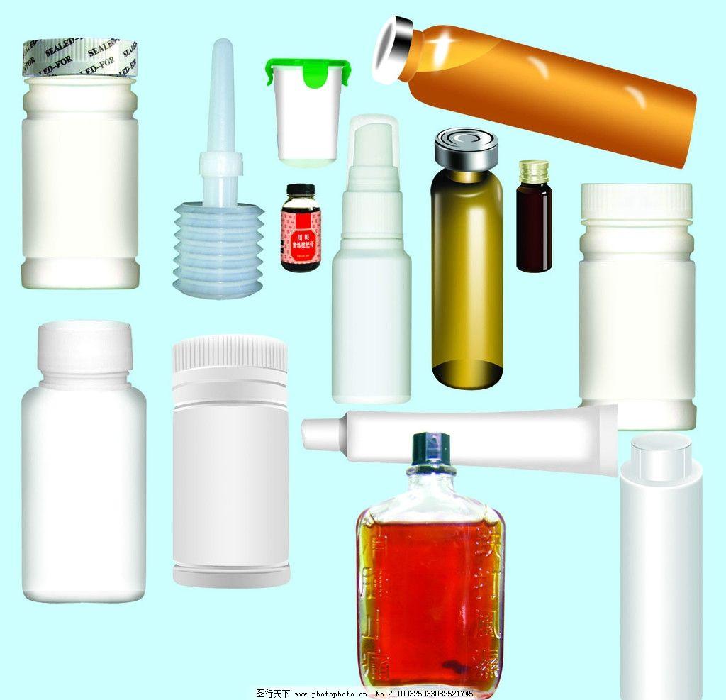 各类瓶子 瓶子 钙片瓶子 洗液瓶子 油剂瓶子 口服液瓶子 枇杷膏瓶子图片