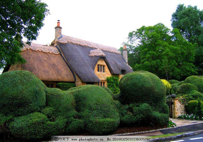 英国庄园免费下载 园林建筑 园林设计 园林素材 英国庄园 国外园林
