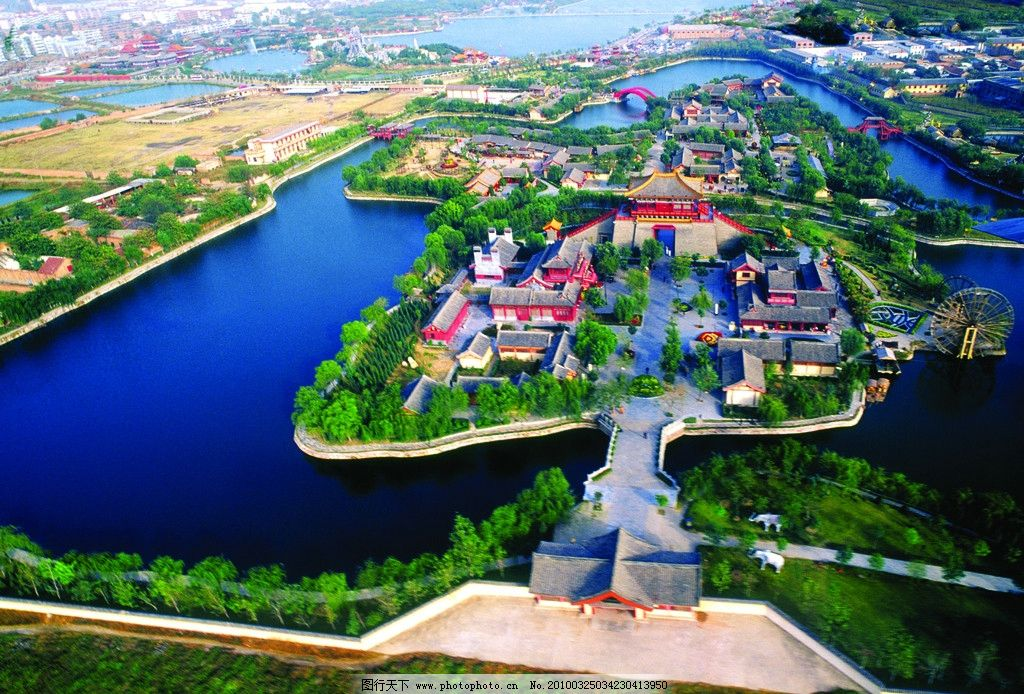 清明上河园 开封 河南 河南省 开封市 风景 城市 建筑 古建筑