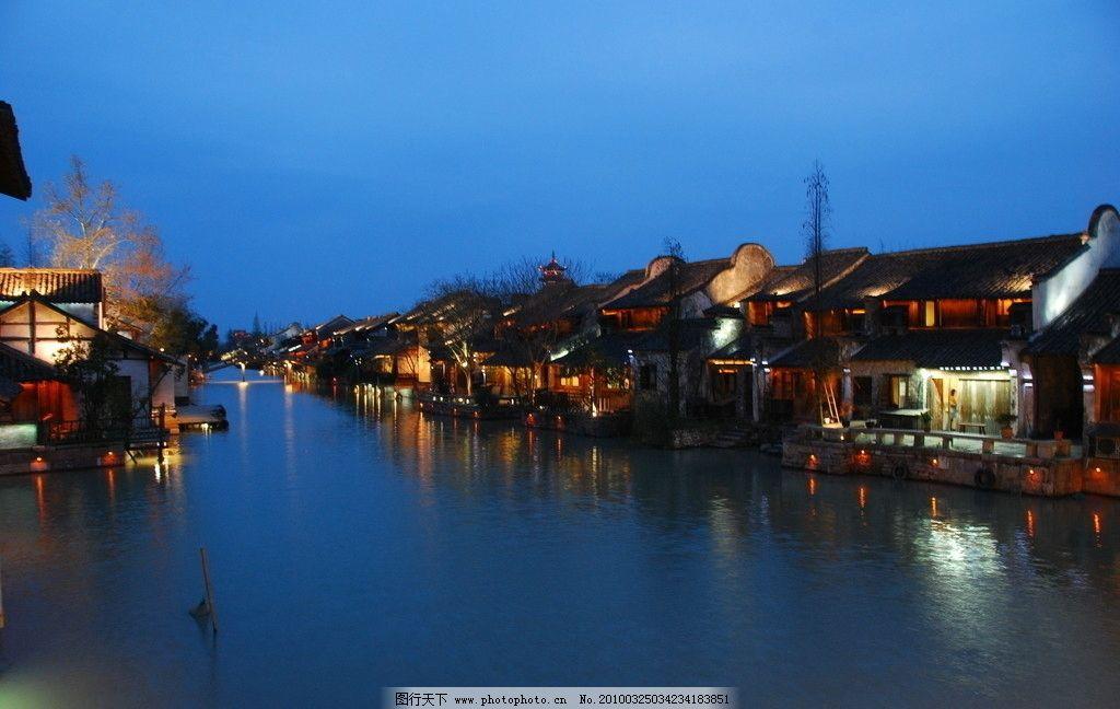 婺源 夜景 高清 风景 水畔人家 最美的乡村 旅游 书乡 茶乡