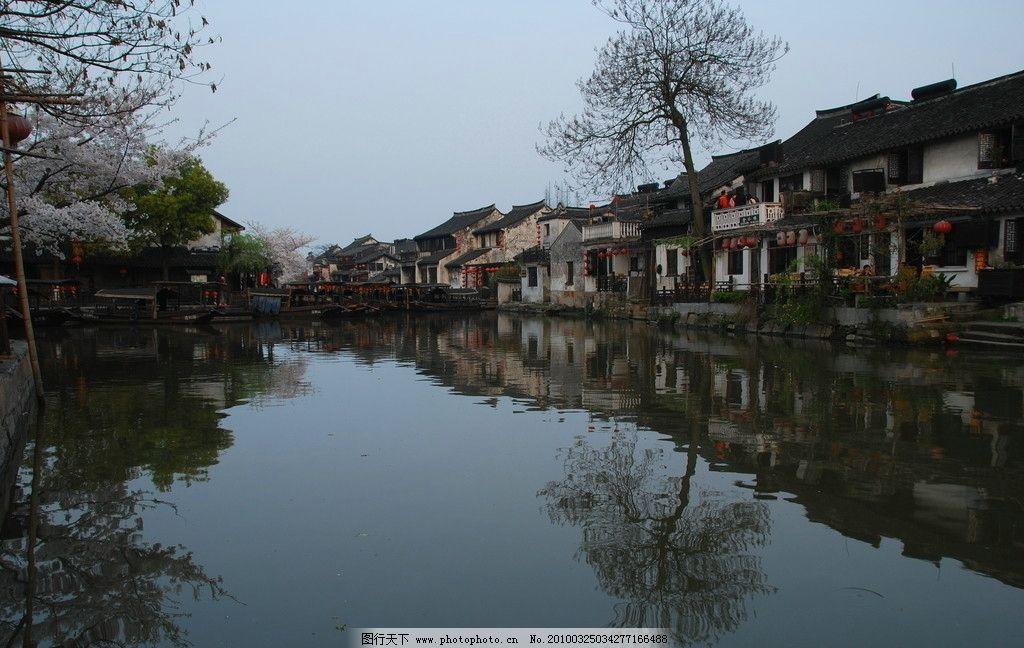 婺源 古典建筑 高清 风景 水畔人家 最美的乡村 旅游 海报 人文景观