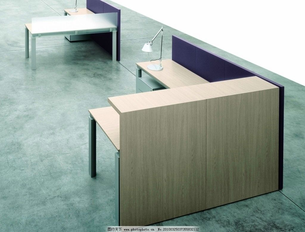 現代室內辦公家具實景照片圖片