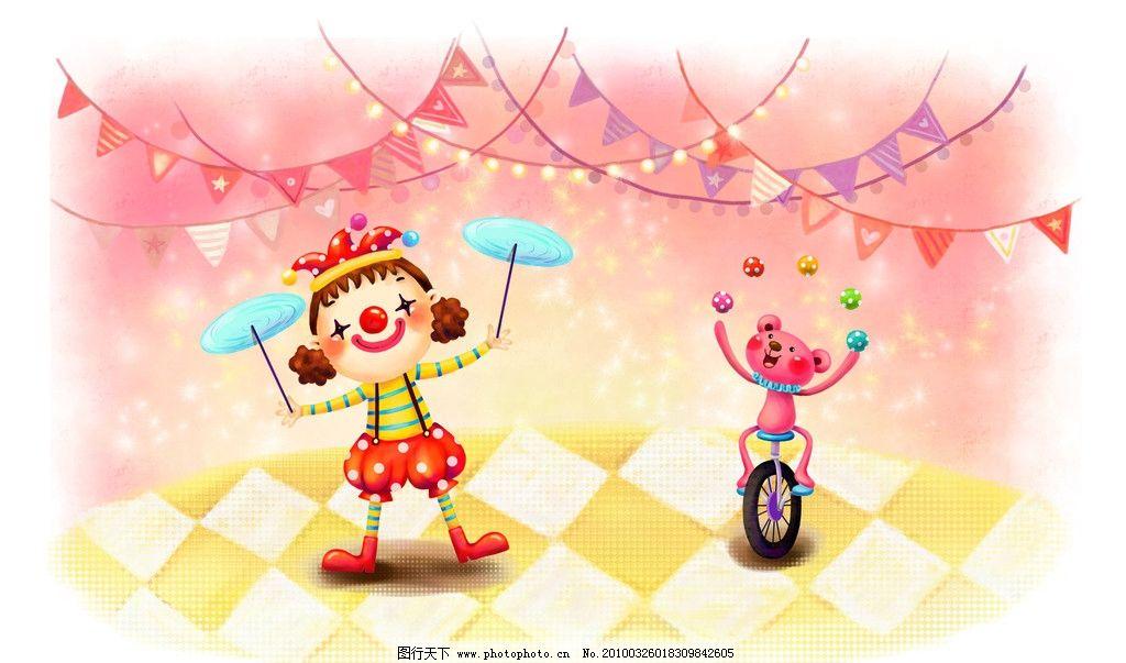 梦幻 童年 手绘图 唯美 可爱 纯真 儿童 小孩 梦幻手绘图 动漫人物 动