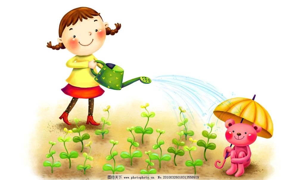 梦幻 童年 手绘图 唯美 可爱 纯真 儿童 小孩 梦幻手绘图 动漫动画
