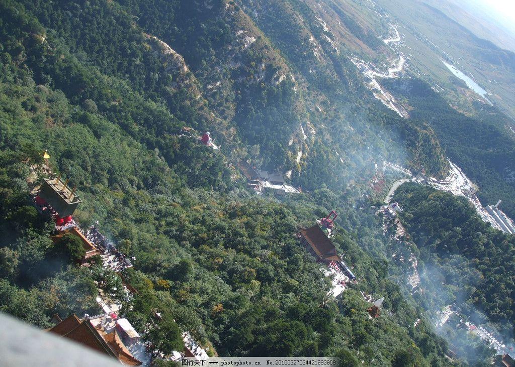 青岩寺鸟瞰风景