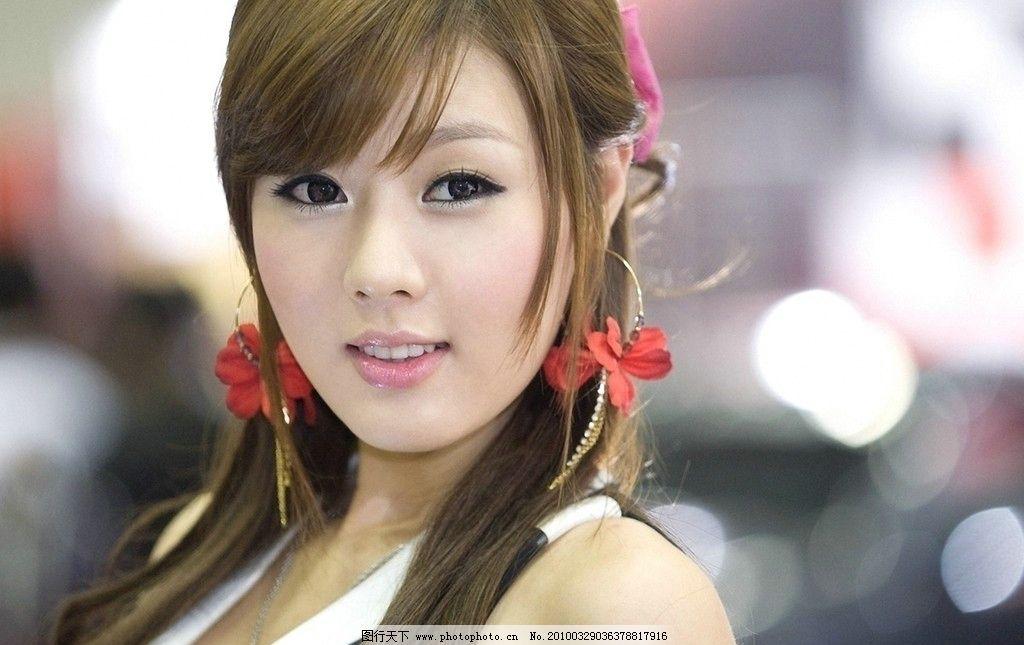 黄美姬 高清晰 极品 精品 养眼 可爱 日韩 车展 车模 美女