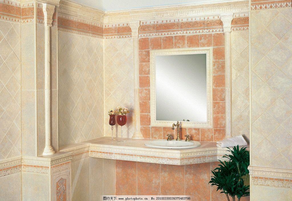 室内摄影  浴室卫生间瓷砖铺贴应用美图 建筑 室内 样板间 欧式 新