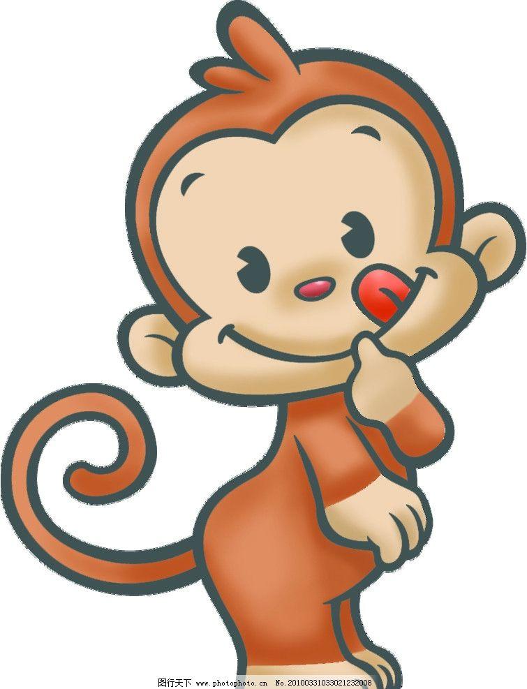 可爱的小猴图片